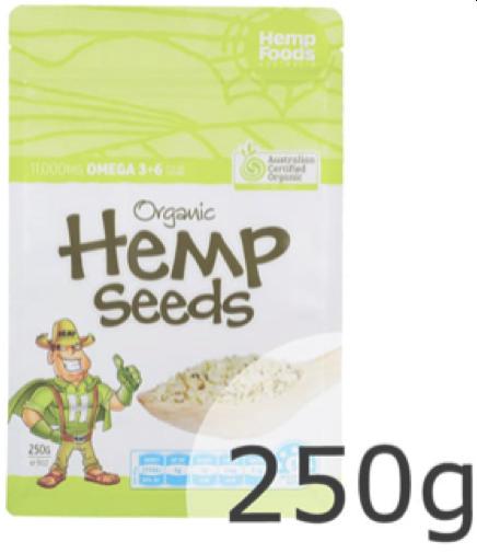 Hemp Seeds 250g