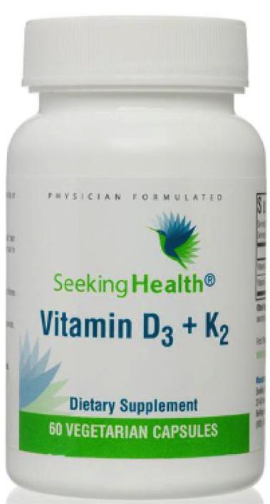 Vitamin D3 +K2