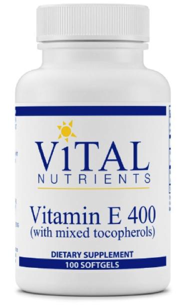 Vitamin E 400iu with mixed tocopherols