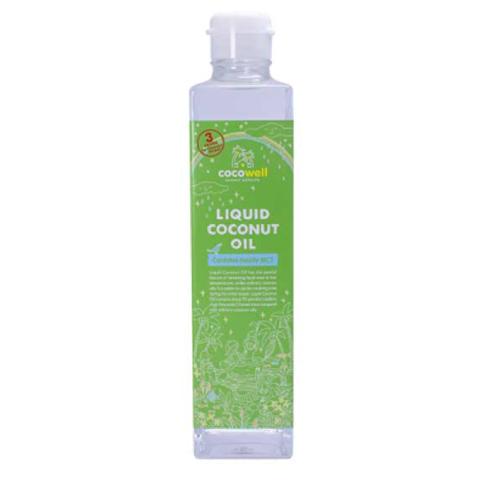 COCOWELL LIQUID COCONUT Oil 280g