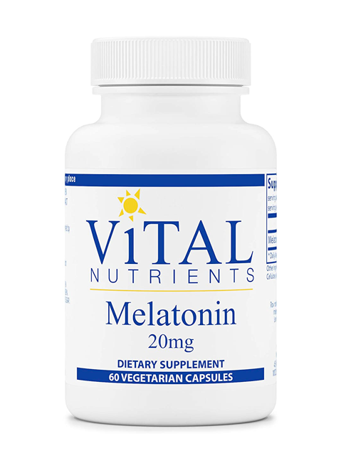 Melatonin 20mg_Vital Nutrients